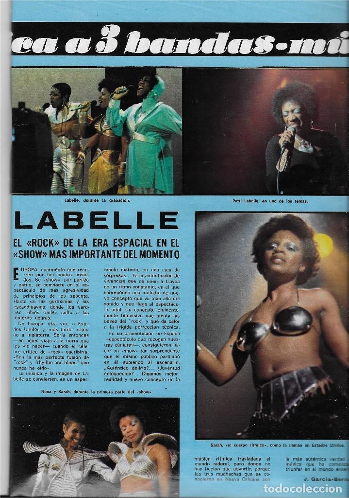 "Coleccionismo de Revista Teleprograma: REVISTA TELE RADIO Nº 914, TELLY SAVALAS "" KOJAK"", AGATA LYS, LABELLE - Foto 3 - 207700176"