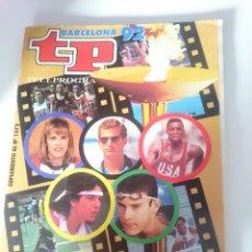 Coleccionismo de Revista Teleprograma: REVISTA TP - SUPLEMENTO DEL TELEPROGRAMA Nº 1372 - EXTRA OLIMPIADAS - BARCELONA 92. Lote 207997586