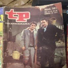 Coleccionismo de Revista Teleprograma: TP TELEPROGRAMA N 567 DEL 14 AL 20 FEBRERO 1974 - TIGRE JUAN. Lote 208166211