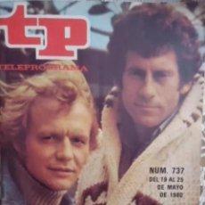 Collectionnisme de Magazine Teleprograma: TELEPROGRAMA N 737 DEL 19 AL 25 MAYO 1980. Lote 209071156