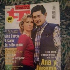 Coleccionismo de Revista Teleprograma: TP TELEPROGRAMA N 1713 DEL 30 ENERO AL 5 FEBRERO 1999 - SERIE MEDITARRANEO. Lote 209387605