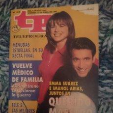 Coleccionismo de Revista Teleprograma: TP TELEPROGRAMA N 1618 DEL 5 AL 11 ABRIL 1997 - EMMA SUAREZ E IMANOL ARIAS - QUERIDO MAESTRO. Lote 209388055