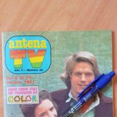 Coleccionismo de Revista Teleprograma: REVISTA TV ANTENA TV TP LA CASA DE LA PRADERA 1981 LOS ANGELES DE CHARLIE. Lote 212012650