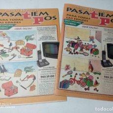 Coleccionismo de Revista Teleprograma: ANTIGUO Y ORIGINAL TP PASATIEMPOS. Lote 213731570