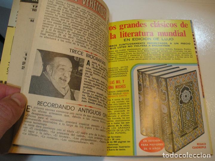 Coleccionismo de Revista Teleprograma: TP TELEPROGRAMA Nº 364. 1973. UN DOS TRES RESPONDA OTRA VEZ. DON CICUTA KIKO LEDGARD. - Foto 5 - 215240893