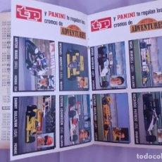 Collectionnisme de Magazine Teleprograma: :ANTIGUA REVISTA TP CON PROMOCION PEGATINAS DE MOTOR ADVENTURES AÑO 1987.EDICION CANARIAS. Lote 216762382