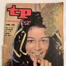 Coleccionismo de Revista Teleprograma: TELPROGRAMAS 299. Lote 218158383