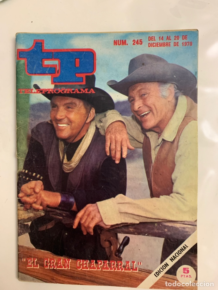 TELEPROGRAMA 245 (Coleccionismo - Revistas y Periódicos Modernos (a partir de 1.940) - Revista TP ( Teleprograma ))