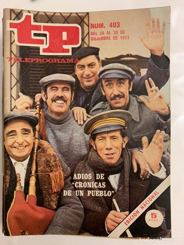 TELPROGRAMAS 403 (Coleccionismo - Revistas y Periódicos Modernos (a partir de 1.940) - Revista TP ( Teleprograma ))