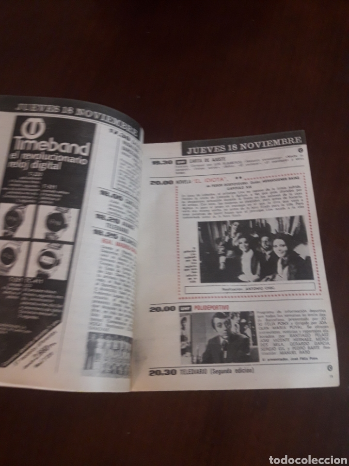 Coleccionismo de Revista Teleprograma: Teleprograma Tp Número 554 (1976) - Foto 3 - 218220342