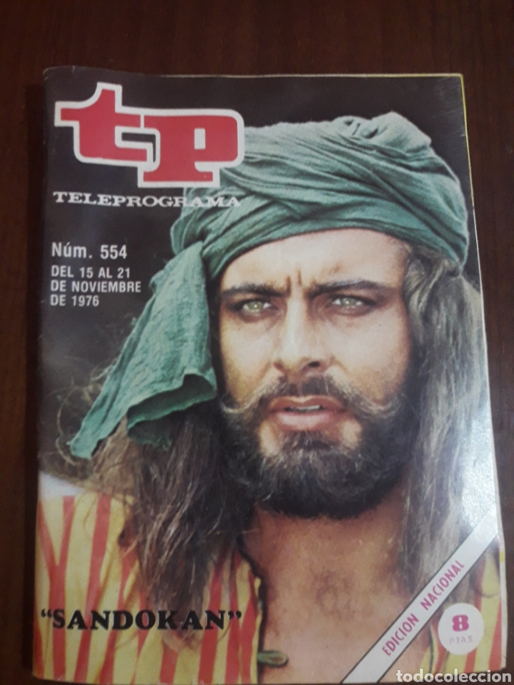 TELEPROGRAMA TP NÚMERO 554 (1976) (Coleccionismo - Revistas y Periódicos Modernos (a partir de 1.940) - Revista TP ( Teleprograma ))