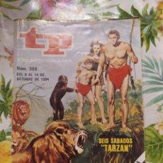 Coleccionismo de Revista Teleprograma: TELEPROGRAMA, TP, NÚMERO 966,SEIS SABADOS TARZÁN, 1984. Lote 219006295