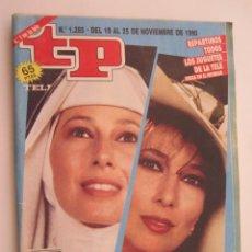 Coleccionismo de Revista Teleprograma: REVISTA TP TELEPROGRAMA Nº 1285 DEL 19 AL 25 DE NOVIEMBRE 1990 LA EXTRAÑA DAMA.. Lote 219413910
