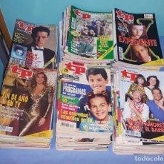 Coleccionismo de Revista Teleprograma: GRAN LOTE DE 229 REVISTAS TP TELEPROGRAMA AÑOS 90 EN MUY BUEN ESTADO. Lote 219519322