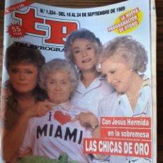 Collectionnisme de Magazine Teleprograma: LOTE REVISTAS TP AÑO 1989 TELEPROGRAMA. AÑO COMPLETO EXCEPTO NUMERO 1218.. Lote 219679383