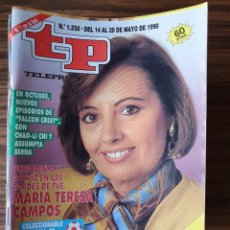 Collectionnisme de Magazine Teleprograma: LOTE REVISTAS TP AÑO 1990 ENTERO EXCEPTO NUMERO 1271 + AÑO 1991 HASTA MES DE AGOSTO. TELEPROGRAMA. .. Lote 219679953