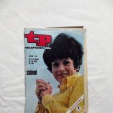 Collectionnisme de Magazine Teleprograma: REVISTA TP TELEPROGRAMA Nº 156 MARZO - ABRIL DE 1969 SALOME. Lote 219732405