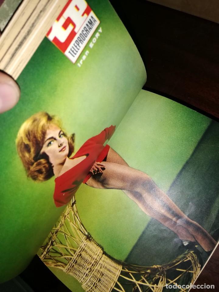 Coleccionismo de Revista Teleprograma: REVISTA TP TELEPROGRAMA 14 TOMOS ENCUADERNADOS NUMEROS 1 A 240 AÑOS 1966 A 1970 ESTADO PERFECTO - Foto 4 - 195075030