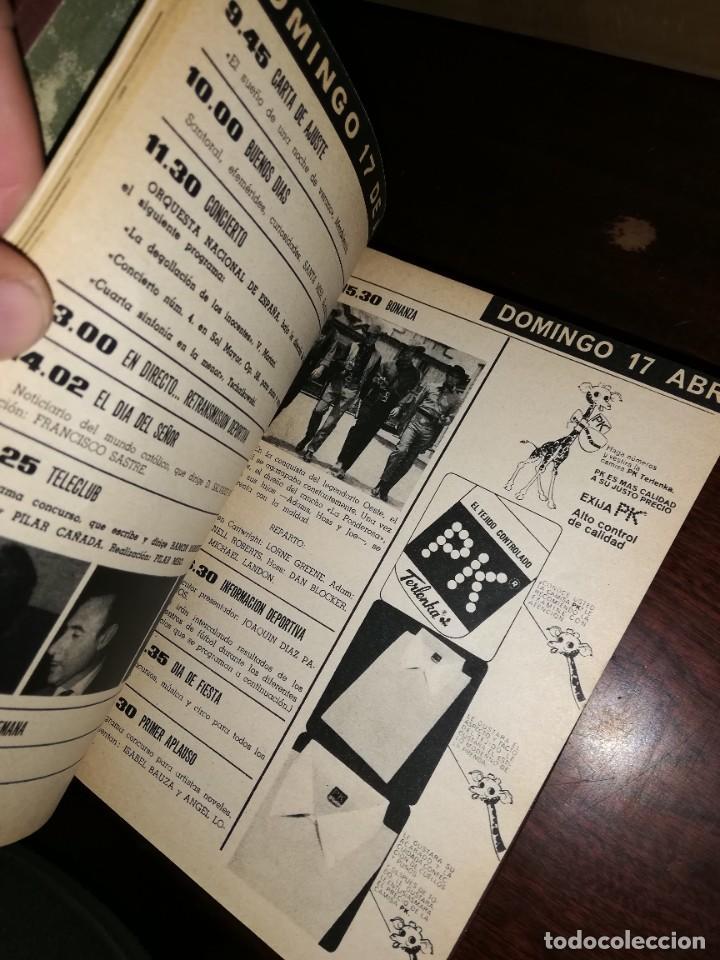 Coleccionismo de Revista Teleprograma: REVISTA TP TELEPROGRAMA 14 TOMOS ENCUADERNADOS NUMEROS 1 A 240 AÑOS 1966 A 1970 ESTADO PERFECTO - Foto 8 - 195075030