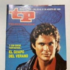 Coleccionismo de Revista Teleprograma: REVISTA TELEPROGRAMA TP 1064 EL COCHE FANTÁSTICO. Lote 221562530