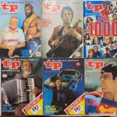 Coleccionismo de Revista Teleprograma: LOTE REVISTA TELEPROGRAMA TP 1007-1085-1000-1125-1109-980. Lote 221563491