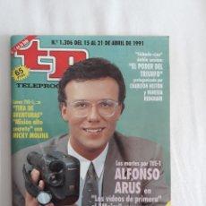Coleccionismo de Revista Teleprograma: TP TELEPROGRAMA N. 1306 ALFONSO ARUS EDICIÓN MADRID CON GUÍA DE ESPECTÁCULOS DE 32 PÁGINAS MÁS. Lote 222010583