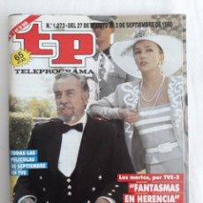 Coleccionismo de Revista Teleprograma: TP TELEPROGRAMA N. 1273 FERNANDO REY EDICIÓN MADRID CON GUÍA DE ESPECTÁCULOS DE 32 PÁGINAS MÁS. Lote 222011473