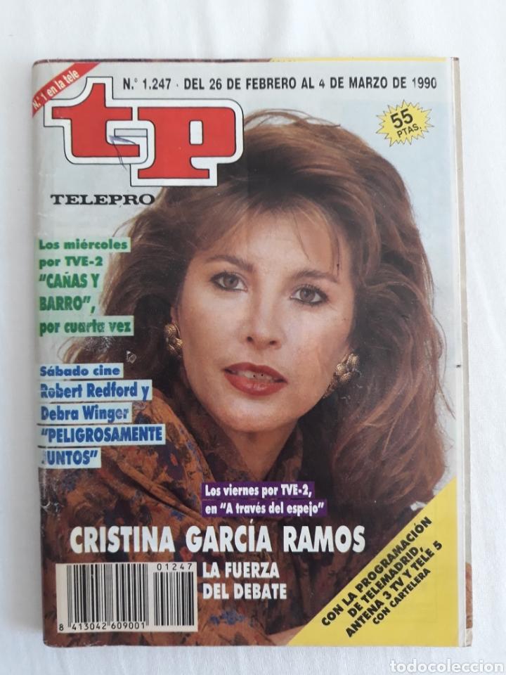 TP TELEPROGRAMA N. 1247 CRISTINA GARCÍA RAMOS EDICIÓN MADRID CON GUÍA DE ESPECTÁCULOS DE 32 PÁGINAS (Coleccionismo - Revistas y Periódicos Modernos (a partir de 1.940) - Revista TP ( Teleprograma ))