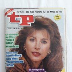 Coleccionismo de Revista Teleprograma: TP TELEPROGRAMA N. 1247 CRISTINA GARCÍA RAMOS EDICIÓN MADRID CON GUÍA DE ESPECTÁCULOS DE 32 PÁGINAS. Lote 222012405