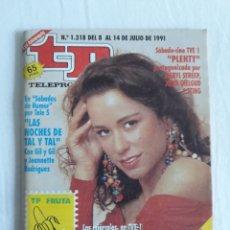 Coleccionismo de Revista Teleprograma: TP TELEPROGRAMA N. 1318 VICKY LARRAZ EDICIÓN MADRID CON GUÍA DE ESPECTÁCULOS DE 32 PÁGINAS MÁS. Lote 222146120
