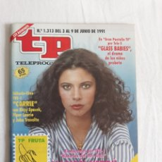Coleccionismo de Revista Teleprograma: TP TELEPROGRAMA N. 1313 MARIBEL VERDÚ EDICIÓN MADRID CON GUÍA DE ESPECTÁCULOS DE 32 PÁGINAS MÁS. Lote 222146285