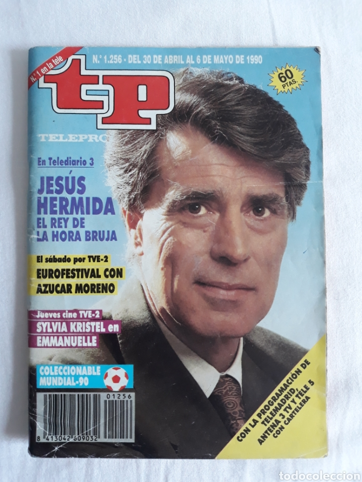 TP TELEPROGRAMA N. 1256 JESÚS HERMIDA EDICIÓN MADRID CON GUÍA DE ESPECTÁCULOS DE 32 PÁGINAS MÁS (Coleccionismo - Revistas y Periódicos Modernos (a partir de 1.940) - Revista TP ( Teleprograma ))