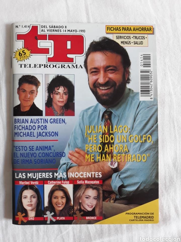 TP TELEPROGRAMA N. 1414 JULIAN LAGO EDICIÓN MADRID CON GUÍA DE ESPECTÁCULOS DE 32 PÁGINAS MÁS (Coleccionismo - Revistas y Periódicos Modernos (a partir de 1.940) - Revista TP ( Teleprograma ))