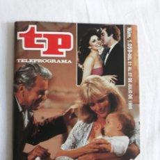Coleccionismo de Revista Teleprograma: TP TELEPROGRAMA N. 1059 LOS RICOS TAMBIÉN DICEN ADIÓS EDICIÓN MADRID CON GUÍA DE ESPECTÁCULOS. Lote 222148838