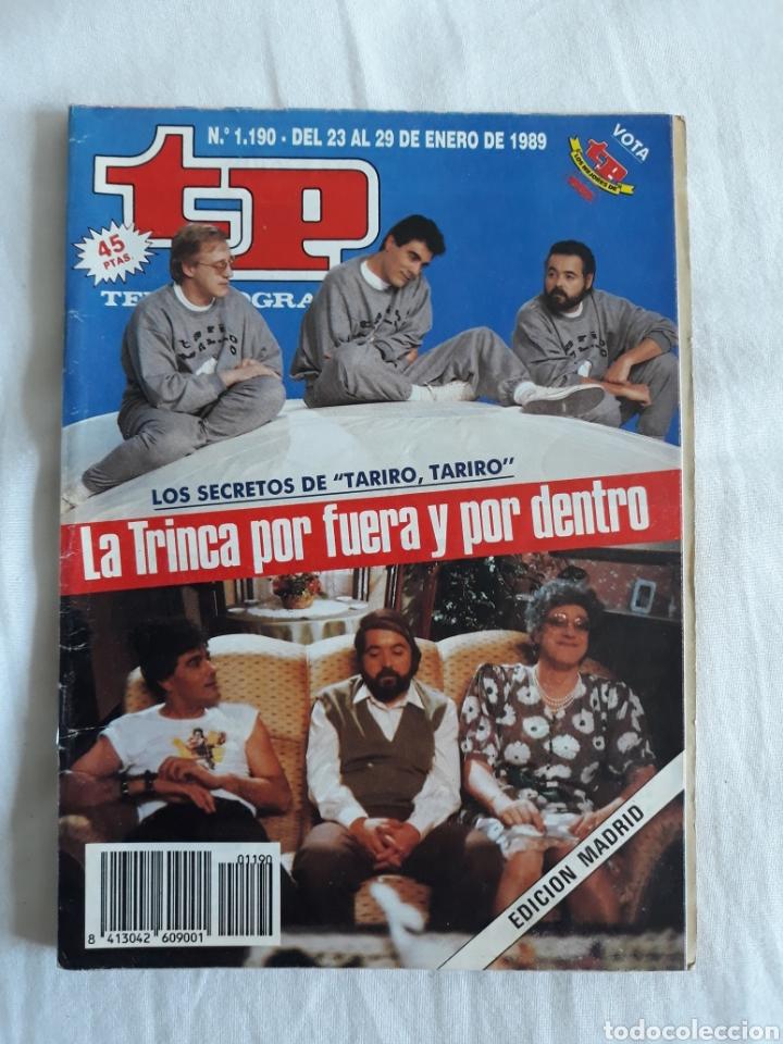 TP TELEPROGRAMA N. 1190 LA TRINCA TARIRO , TARIRO EDICIÓN MADRID CON GUÍA DE ESPECTÁCULOS (Coleccionismo - Revistas y Periódicos Modernos (a partir de 1.940) - Revista TP ( Teleprograma ))