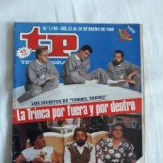 Coleccionismo de Revista Teleprograma: TP TELEPROGRAMA N. 1190 LA TRINCA TARIRO , TARIRO EDICIÓN MADRID CON GUÍA DE ESPECTÁCULOS. Lote 222149267