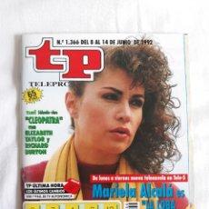 Coleccionismo de Revista Teleprograma: TP TELEPROGRAMA N. 1366 MARIELA ALCALÁ EDICIÓN MADRID CON GUÍA DE ESPECTÁCULOS DE 32 PÁGINAS MÁS. Lote 222150503