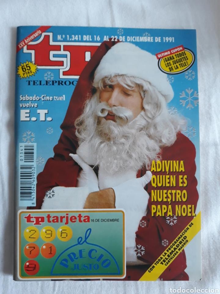 TP TELEPROGRAMA N. 1341 PAPA NOEL EMILIO ARAGON EDICIÓN MADRID CON GUÍA DE ESPECTÁCULOS (Coleccionismo - Revistas y Periódicos Modernos (a partir de 1.940) - Revista TP ( Teleprograma ))