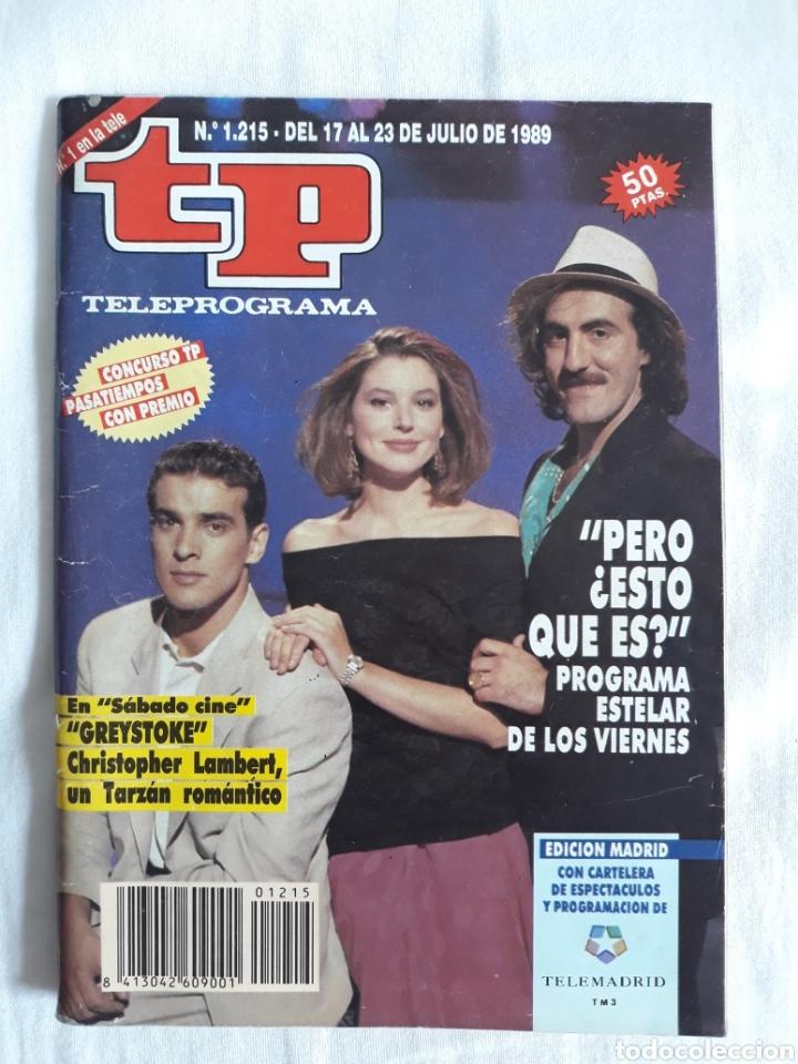 TP TELEPROGRAMA N. 1215 PERO ¿ ESTO QUÉ ES ? EDICIÓN MADRID CON GUÍA DE ESPECTÁCULOS 32 PÁGINAS MÁS (Coleccionismo - Revistas y Periódicos Modernos (a partir de 1.940) - Revista TP ( Teleprograma ))