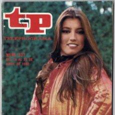 Coleccionismo de Revista Teleprograma: TELEPROGRAMA NO. 837. ABRIL 1982. LUCÍA: SÁBADO EUROVISIÓN. Lote 222342875