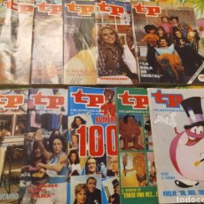 Collectionnisme de Magazine Teleprograma: LOTE TELEPROGRAMA, TP. Lote 225981697
