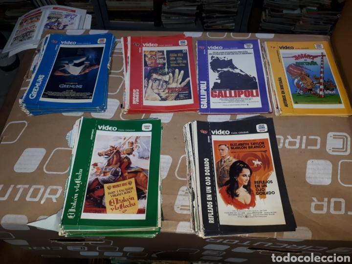 LOTE DE MÁS DE 630 CARÁTULAS CINTA VÍDEO REVISTA TP GOONIES, STAR WARS, SUPERMAN, EWOKS (Coleccionismo - Revistas y Periódicos Modernos (a partir de 1.940) - Revista TP ( Teleprograma ))