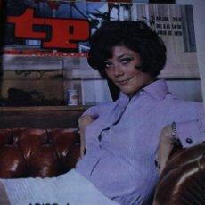 Coleccionismo de Revista Teleprograma: TELEPROGRAMA Nº 128 LINDA THORSON LOS VENGADORES MARISOL 1970. Lote 235941750