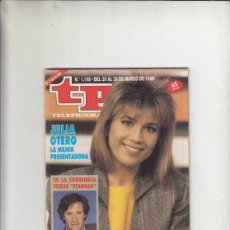 Coleccionismo de Revista Teleprograma: REVISTA TP TELEPROGRAMA Nº 1198 AÑO 1989. JULIO OTERO. VUELVE STARMAN.. Lote 237164160