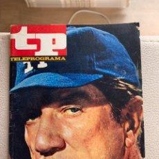 Coleccionismo de Revista Teleprograma: TELEPROGRAMA NÚMERO 36. Lote 237463550