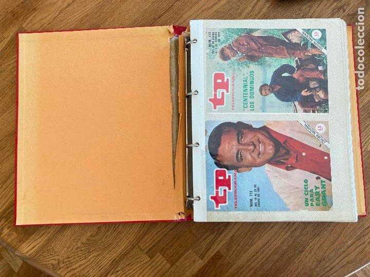 Coleccionismo de Revista Teleprograma: ALBUM CON 144 PORTADAS DE LA REVISTA TP (TELEPROGRAMA) - AÑOS 80 - Foto 3 - 237637500