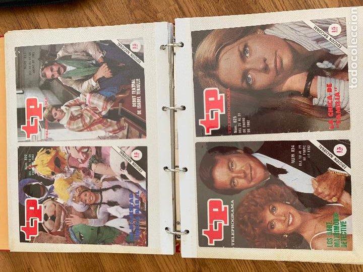Coleccionismo de Revista Teleprograma: ALBUM CON 144 PORTADAS DE LA REVISTA TP (TELEPROGRAMA) - AÑOS 80 - Foto 4 - 237637500