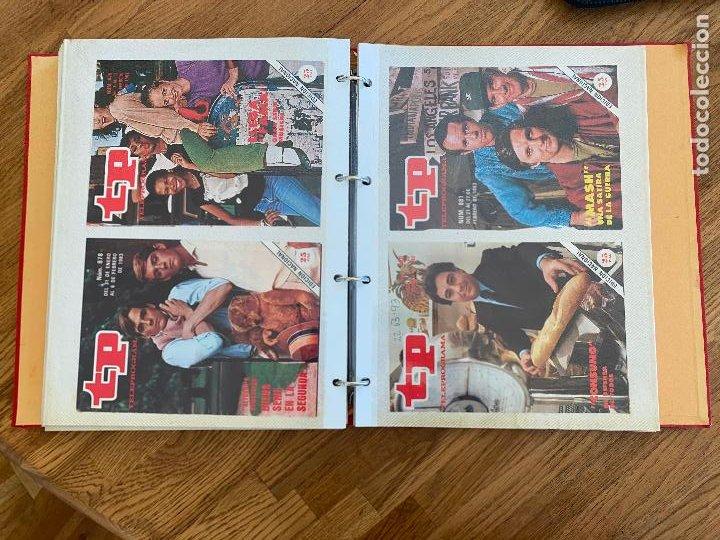 Coleccionismo de Revista Teleprograma: ALBUM CON 144 PORTADAS DE LA REVISTA TP (TELEPROGRAMA) - AÑOS 80 - Foto 6 - 237637500