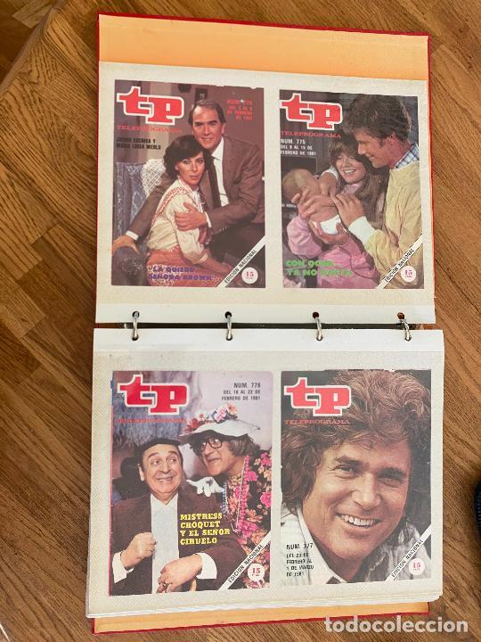 ALBUM CON 144 PORTADAS DE LA REVISTA TP (TELEPROGRAMA) - AÑOS 80 (Coleccionismo - Revistas y Periódicos Modernos (a partir de 1.940) - Revista TP ( Teleprograma ))
