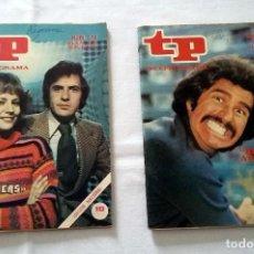 Coleccionismo de Revista Teleprograma: LOTE TP TELEPROGRAMA Nº 574 576 AÑO 1977. Lote 239396265